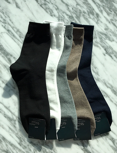 [Short]프롬어스 Basic Socks (5color)